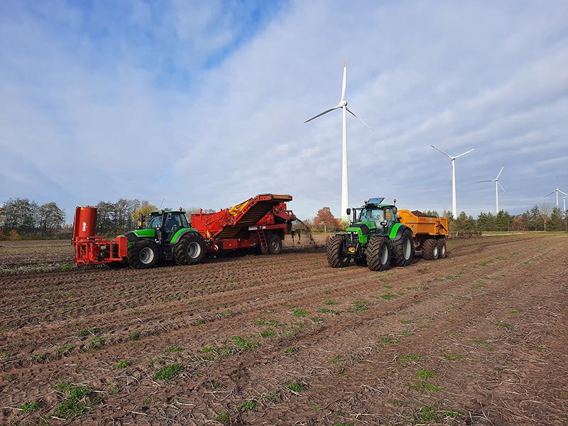 agrarisch loonwerk door Brouwer Groen en Grondig